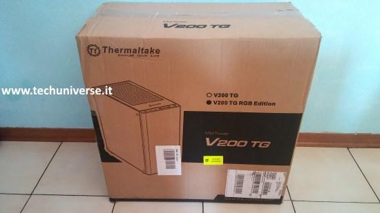 Thermaltake V200 scatola