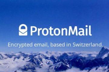 ProtonMail per creare email gratis crittografate