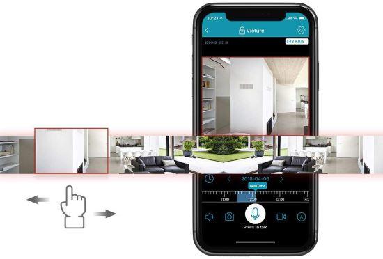 App telecamera di sorveglianza WiFi