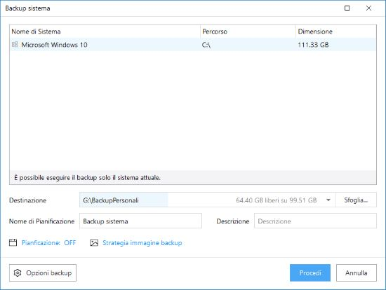 Clonazione e backup sistema operativo