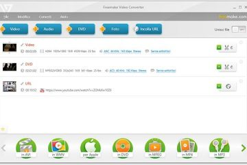 Come convertire video in MP3 gratis con Freemake