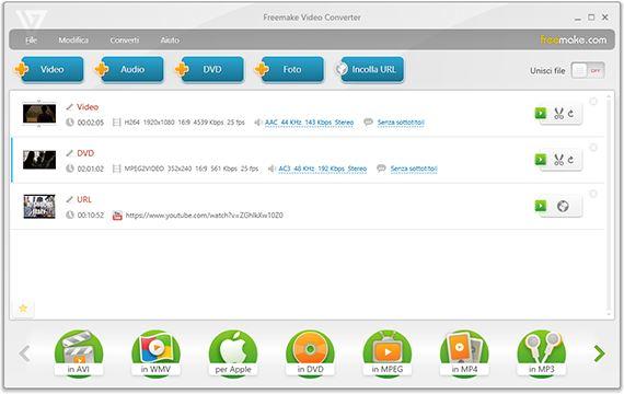 Come convertire video in MP3 gratis con Freemake