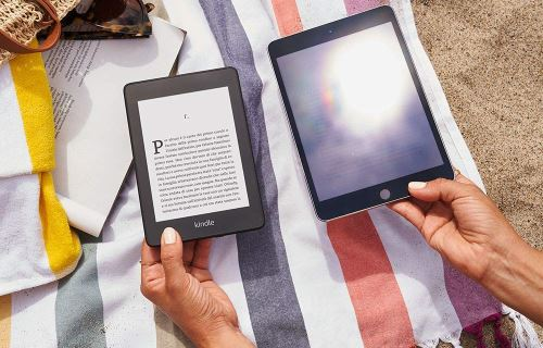 Differenza tra display Kindle e tablet