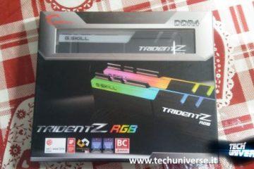 G.Skill Trident Z RGB 16GB DDR4 3200GHz scatola