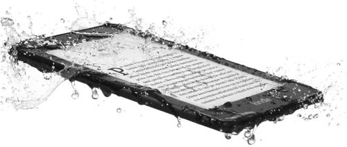 Kindle Paperwhite impermeabile all'acqua