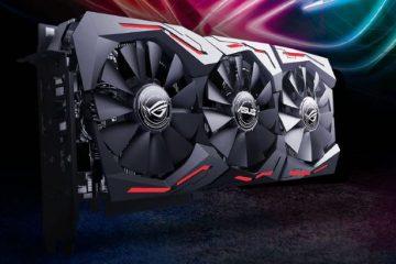 Asus GeForce RTX 2060 ROG Strix OC O6G illuminazione a LED RGB