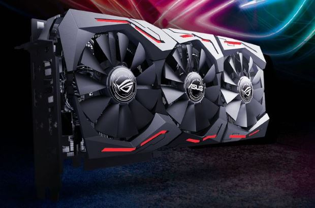 Asus GeForce RTX 2060 ROG Strix OC O6G illuminazione a LED RGB