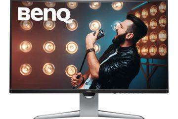 BenQ EX3203R recensione monitor curvo 144Hz da 32 pollici