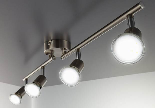 Faretti LED da soffitto orientabili