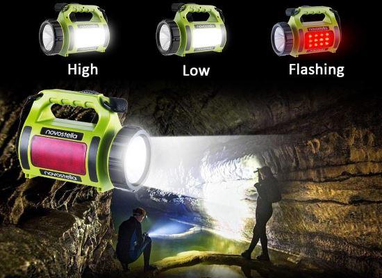Lanterna LED ricaricabile USB