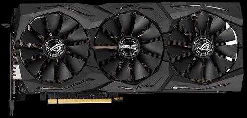 Ventole Asus GeForce RTX 2060 ROG Strix OC O6G e sistema di raffreddamento