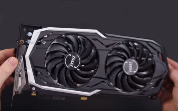 Ventole MSI GeForce RTX 2070 Armor