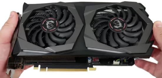 MSI GeForce RTX 2060 Gaming Z - Le ventole