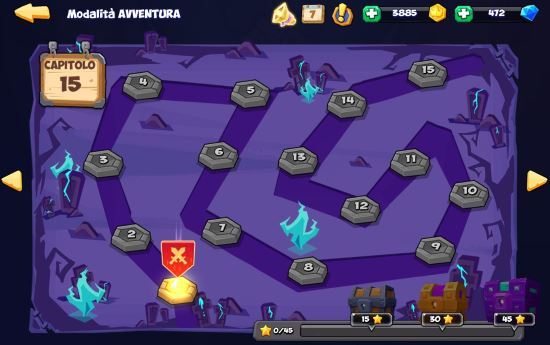 Tactical Monsters Rumble Arena - modalità avventura