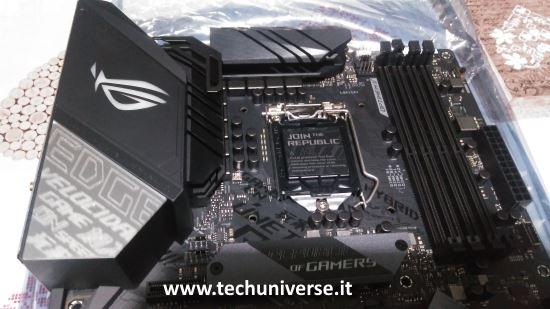 Dissipatori scheda madre Asus Z390-E