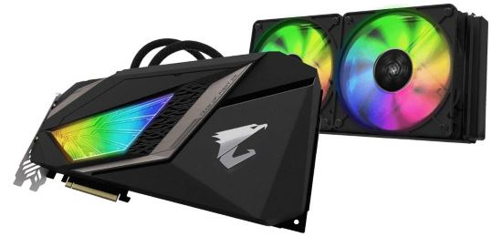 Gigabyte AORUS GeForce RTX 2080 Ti Xtreme WATERFORCE