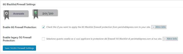 6G Blacklist Firewall Ruless