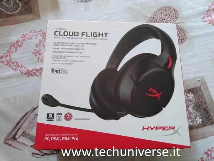 HyperX Cloud Flight unboxing
