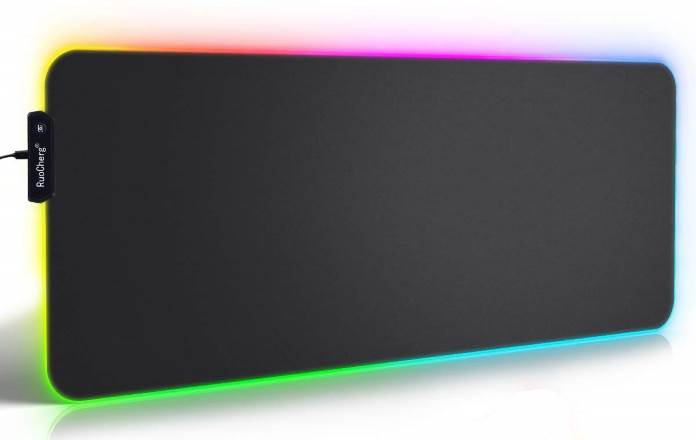 Offerta tappetino mouse illuminazione RGB
