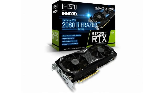 ELSA GeForce RTX 2080 Ti Erazor Gaming nuova scheda video