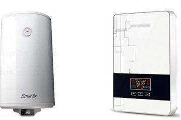 Scaldabagno elettrico con funzione smart