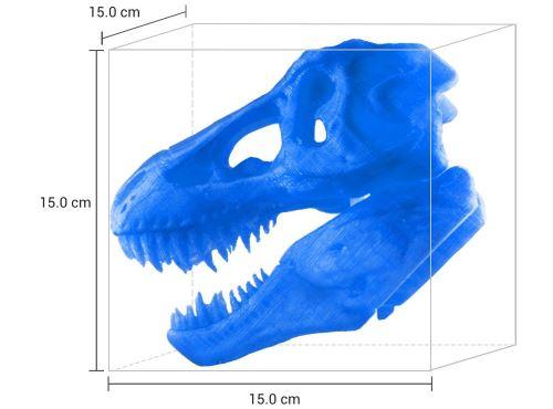 Grandezza oggetti di stampa 3D
