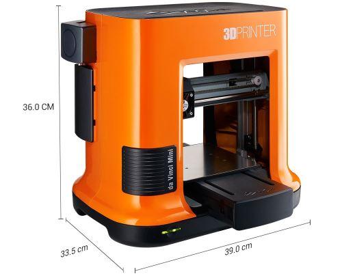 Misure stampante 3D - XYZprinting da Vinci mini W +