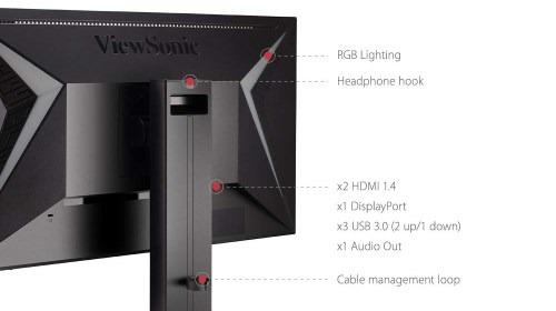 ViewSonic Elite XG240R - Le porte