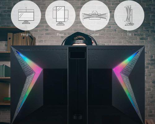ViewSonic Elite XG240R illuminazione a LED RGB
