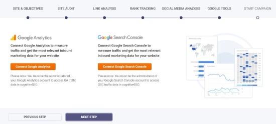 Connessione Google Analytics e Google Search Console