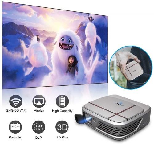 Proiettore portatile 1080P senza fili