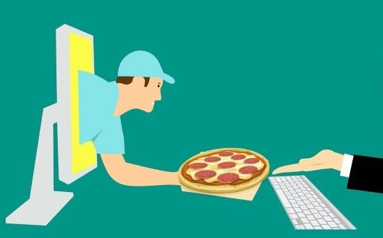 Consegna a domicilio pizza app
