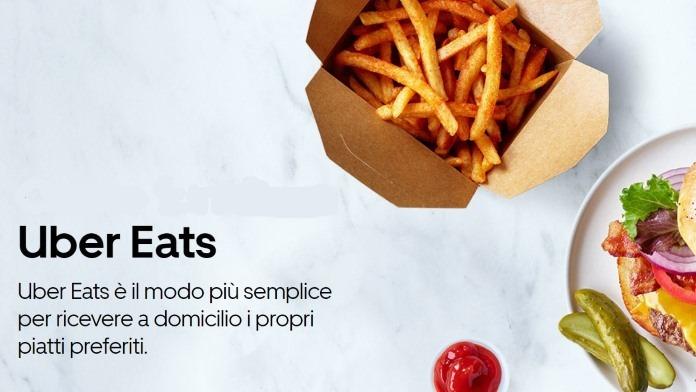 Uber Eats: App per ordinare cibo a domicilio