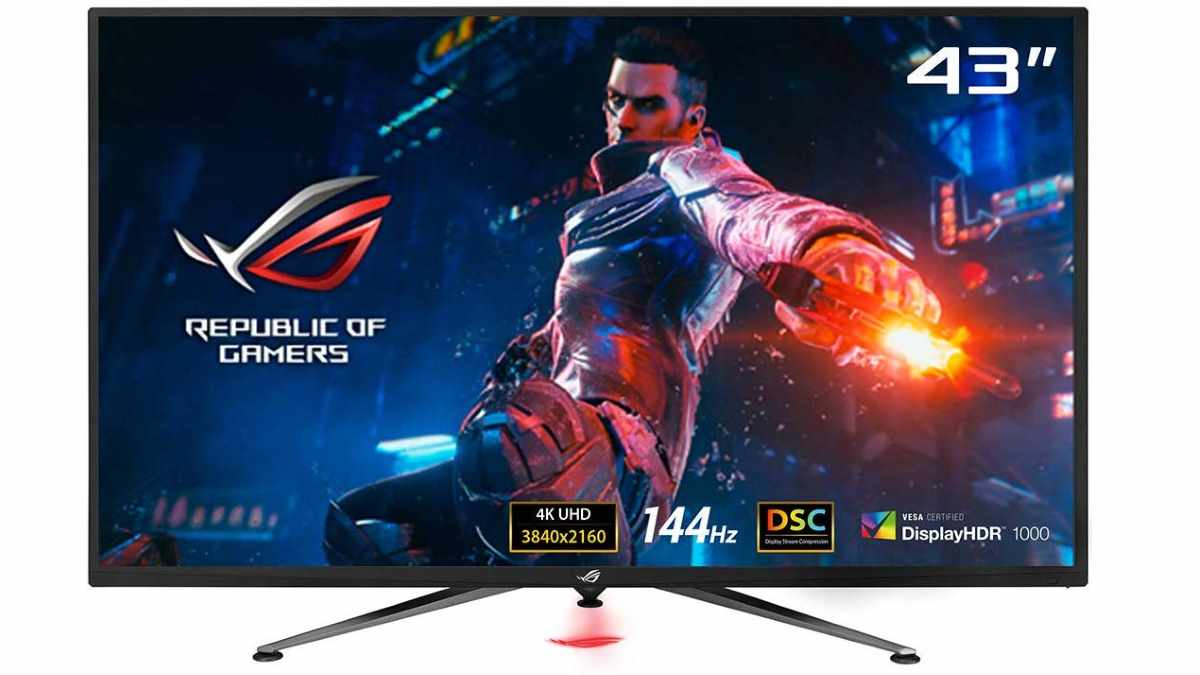 ASUS ROG Swift PG43UQ