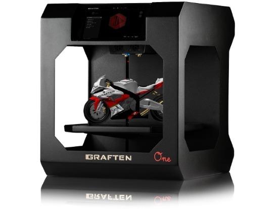 Modellino stampato con una stampante 3D