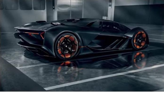 Auto del futuro - Lamborghini terzo millennio