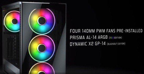 Ventole illuminazione a LED RGB da 140mm
