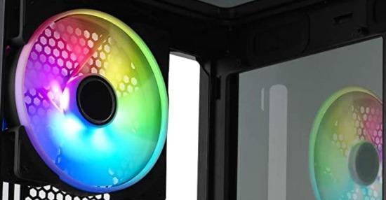 Ventole illuminazione a LED RGB