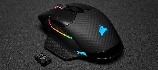 Zone di illuminazione a LED RGB mouse Corsair Dark Core RGB Pro