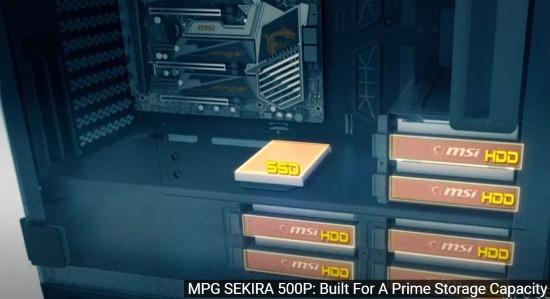 Installazione SSD e HDD nel case MSI