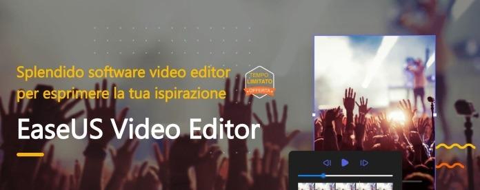 Software per modificare video EaseUS Video Editor