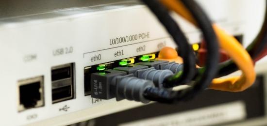Collegamento Ethernet di una Intranet Aziendale
