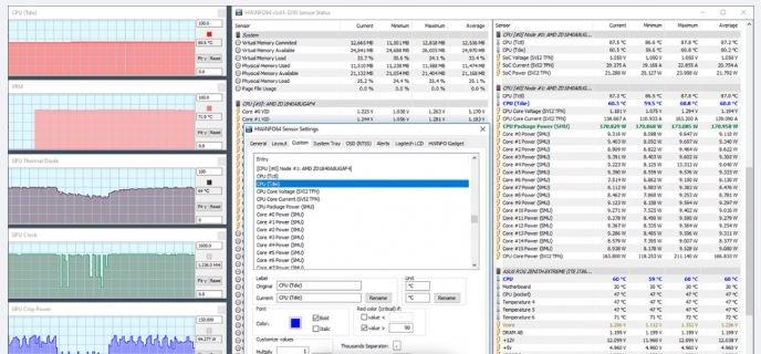 Interfaccia software di diagnostica PC