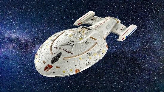 Astronave con motore a curvatura - Enterprise di Star Trek