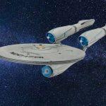 Enterprise - Astronave con motore a curvatura