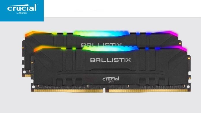 Crucial Ballistix BL2K8G32C16U4BL RGB