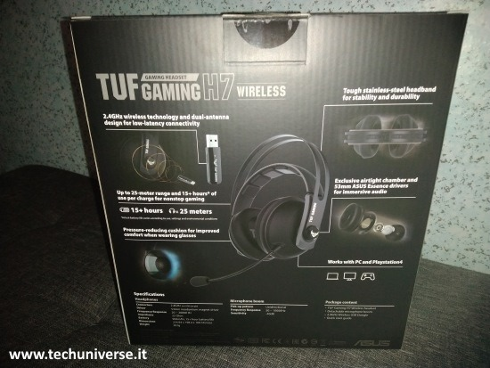 Scatola Asus TUF Gaming H7 Retro