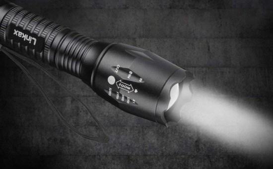 Linkax Torcia LED alta potenza